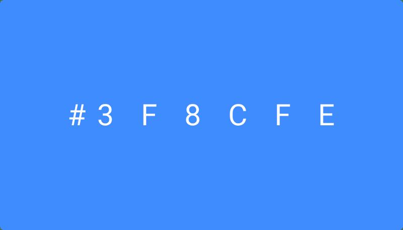ui ux design : hex color code of a color