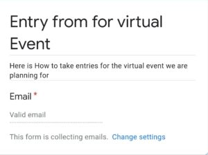 Google forms : making name field