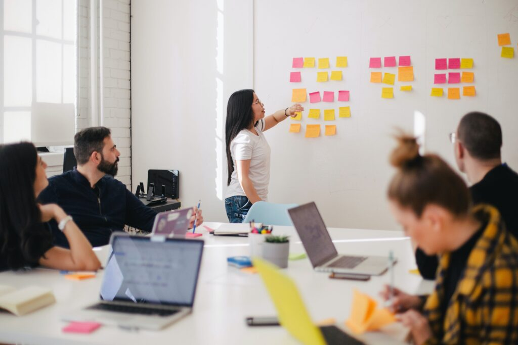 Make a capable team of organizers