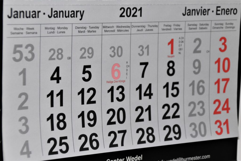 Decide dates and start promoting it